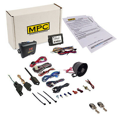 Remote Car Starter & Car Alarm Includes Keyless Bypass for Honda & Acura Vehicle