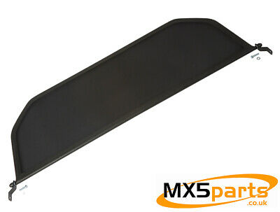 MX5 Wind Deflector Blocker Black Mesh Classic Mazda MX-5 Mk1 Mk2 2.5 1989>2005