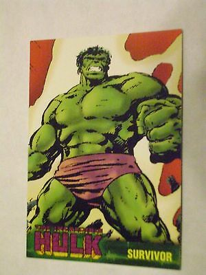 MARVEL THE INCREDIBLE HULK TOPPS 2003 BASE CARD #18 SURVIVOR
