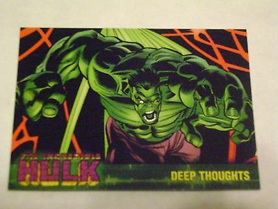 MARVEL THE INCREDIBLE HULK TOPPS 2003 BASE CARD #23 DEEP THOUGHTS