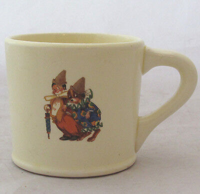 Childrens Kids Cup Mug Vintage Clown With Dog 7 Ounce