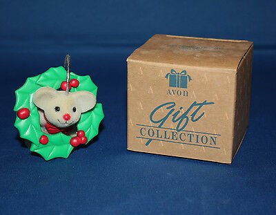 Avon Gift Collection Tree Trimmer Friends Ornament - Mouse