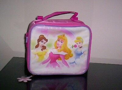 Disney Princesses Insulated Lunch Box Tote Pink New in Package