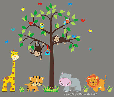 Baby Room Wall Decals - Wall Stickers for Kids Room - Removable and Reusable