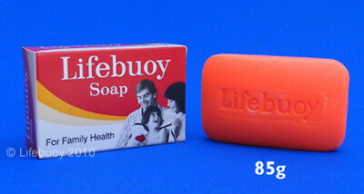 Lifebuoy Soap ( RARE ) For Family Health 85g Red Bar