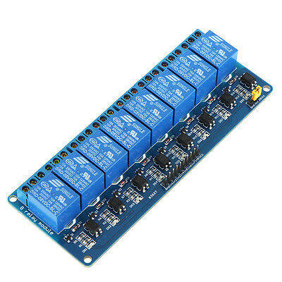 8 Channel 5V Relay Shield Module Board Optocoupler module for Arduino ARM AVR CN