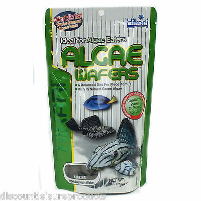 Hikari Tropical Aquarium Algae Wafers 20g 40g 82g 250g 1Kg Sinking Catfish Wafer