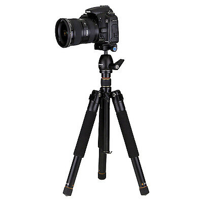 7dayshop Travel-Pro Tripod for Professional Photo and Video Use with Case
