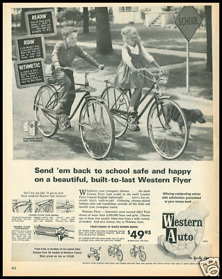 1963 vintage ad for Western Auto