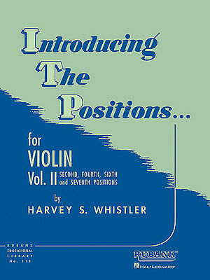 Introducing The Positions, Volume 2 - Violin Method Book 4472560