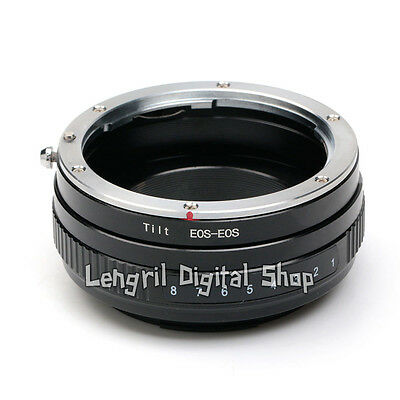 Macro Tilt Canon EF-S EF Lens to EOS Camera Adapter Ring For 7D 6D 650D 550D 5D