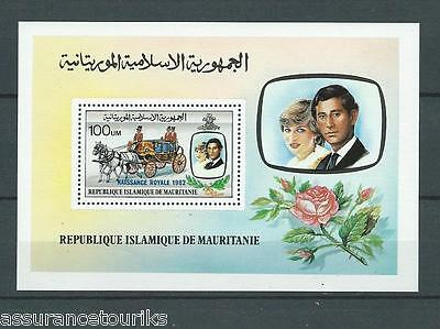 Mauritanie - Bloc 1982 Yt 36 - Naissance Royale -Timbres Neufs** Luxe