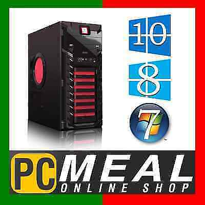 AMD Dual Core A4 7300 4.0GHz Max Desktop Computer 4GB 500GB HD8470D Gaming PC