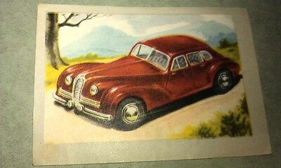 1950 DELAYHAYE Jacques Chocolates BELGIUM Trade Swap Card - RARE !