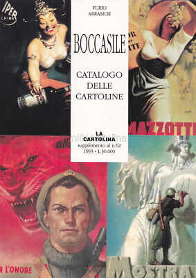 CATALOGO BOCCASILE - Le Cartoline Illustrate (Arrasich)