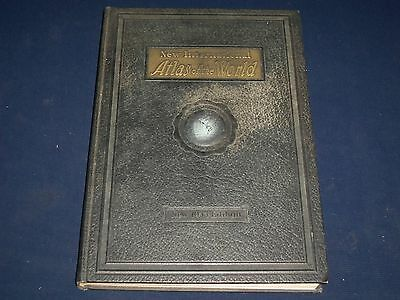 1933 New International Atlas Of The World By Lloyd Edwin Smith - Maps - Kd 2375