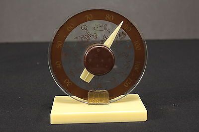 """Constellations Thermometer Vintage Astronomy Desktop Model 5 3/4"""" Tall x 4 3/4""""W"""