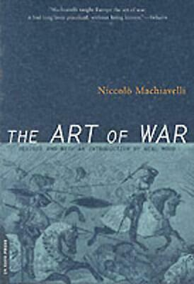 The Art of War by Niccolo Machiavelli Paperback Book (English)