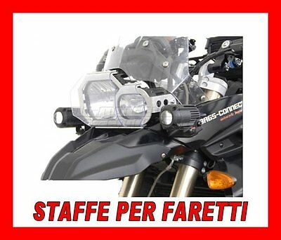 Kit Staffe Bmw F650 800 Gs X Faretti Alogeni Hawk Fog Light Moto Nsw0700410000/B