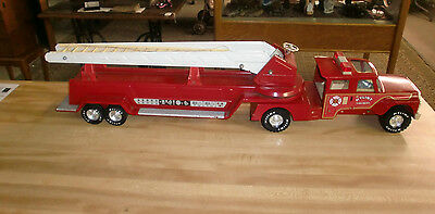 Nylint Toy Metal Fire Truck