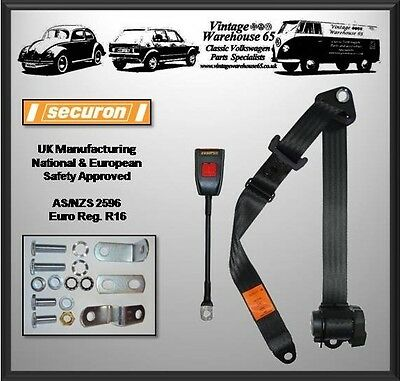 Toyota Corolla Mk1 AE86 Coupe Front 3 Point Automatic Seatbelt Kit