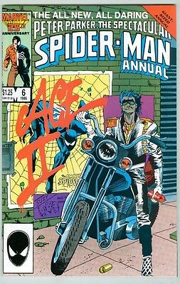 Spectacular Spider-Man: Annual #6 VF/NM 1986 Ace II, King Size