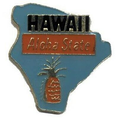 Hat Lapel Push Pin Tie Tac State of Hawaii NEW