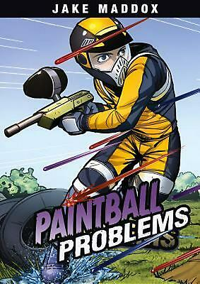 Paintball Problems by Jake Maddox (English) Library Binding Book Free Shipping!