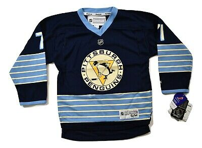 differently 1420b 695df REEBOK NHL PITTSBURGH Penguins Evgeni Malkin Youth Replica Jersey NWT S/M