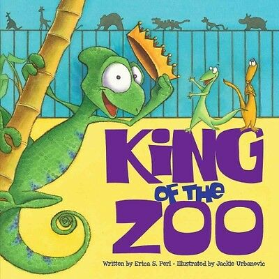 King of the Zoo by Erica S. Perl Hardcover Book (English)