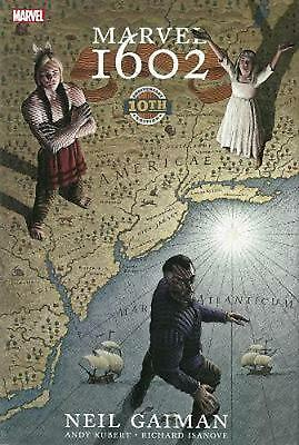 Marvel 1602: 10th Anniversary Edition by Neil Gaiman (English) Hardcover Book Fr