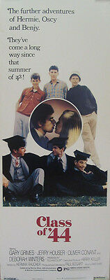 CLASS OF '44 great rolled insert movie poster 1973