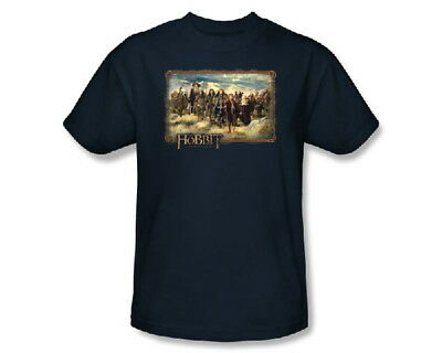 The Hobbit Movie, Hobbit and Company Cast T-Shirt, Lord of the Rings NEW UNWORN