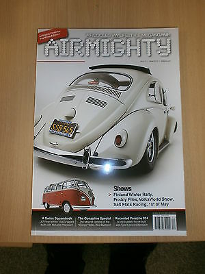 Airmighty VW Porsche Aircooled Magazine Winter 2013 Issue 12 #12 Brand New Copy