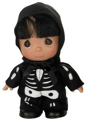 Precious Moments Doll Mini HALLOWEEN SKELLY TONS OF FUN Dollmaker  NEW