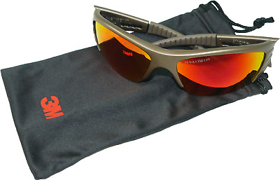 3M Fuel X2 Red Mirror Safety Glasses