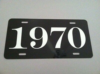1970 License Plate Fits Cuda Challenger Dart Road Runner Charger Duster 340 R/T