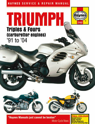 HAYNES MANUAL TRIUMPH TROPHY 900cc