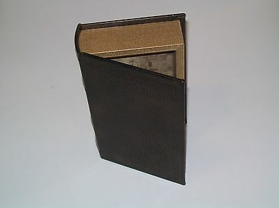 Faux Book Valuables Jewelry Secret Compartment Hiding Spot Magnetic Hinged Safe