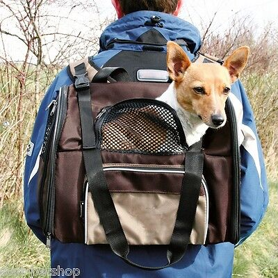 Shiva Rucksack Carrier Pet Bag For Small Cats & Dogs 28871