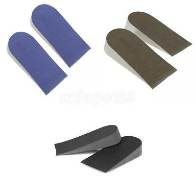 3 Pair Height Increase Shoe Insole Insert Shoes Half Pads Heel Lift Taller Pad