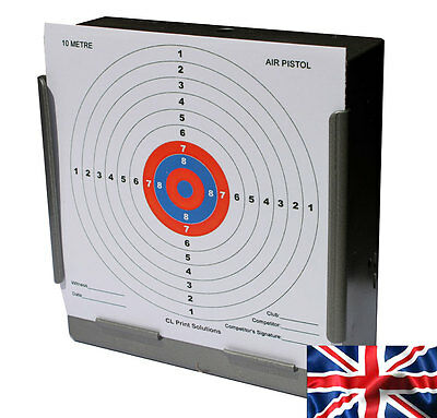 100x AIR RIFLE OR PISTOL14CM CLP PAPER 10M 33FT TARGET (100gsm New