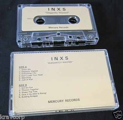 Inxs 'Elegantly Wasted' 1997 Advance Cassette--Limited