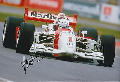 Gil De FERRAN SIGNED 12x8 Photo MARLBORO HONDA INDY Racing Team AFTAL COA