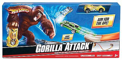 Hot Wheels Gorilla Attack Performance Track Set - R6511 - New