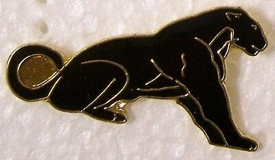 Hat Lapel Pin Scarf Clasp Cat Black Panther NEW