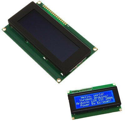 New 2004 204 20X4 Character LCD Display Module Blue Blacklight for Arduino US