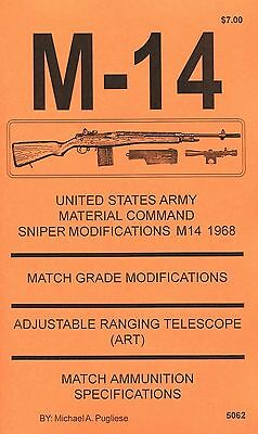 M-14 National Match Modification Manual  Competition Adjustments  Book New   M14