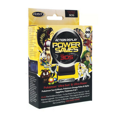 New Datel Action Replay Power Saves For Nintendo 2Ds / 3Ds / 3Ds Xl Cheats Codes