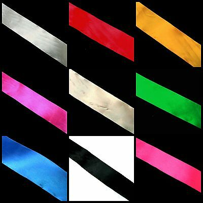 50mm Different Design / Colour Satin Party Ribbon * PICK COLOUR & LENGTH *